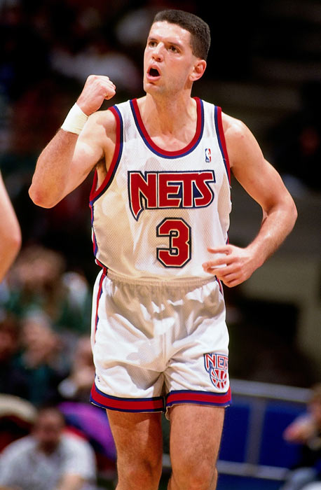 New Jersey guard Drazen Petrovic, a 1993 All-NBA Third Team selection and a member of the Croatian team that won a silver medal at the 1992 Olympics in Barcelona, was killed in an automobile accident in Germany.