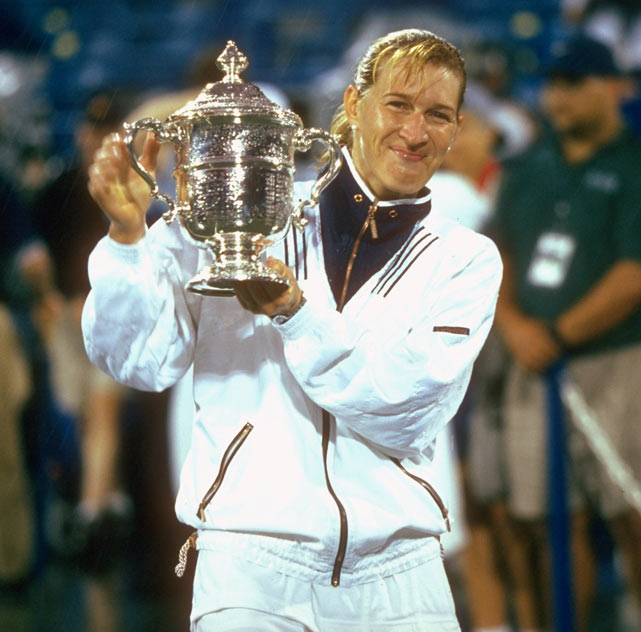 At the 66th French Open, Steffi Graf beats Arantxa Sanchez-Vicario (6-3, 6-7, 10-8) to capture the championship.
