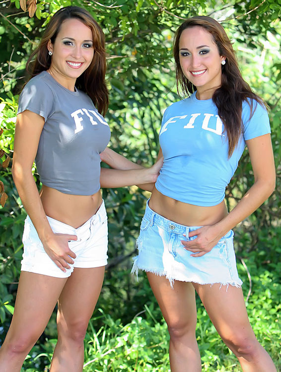 Click here to see complete gallery of Alexandra and Michelle.
