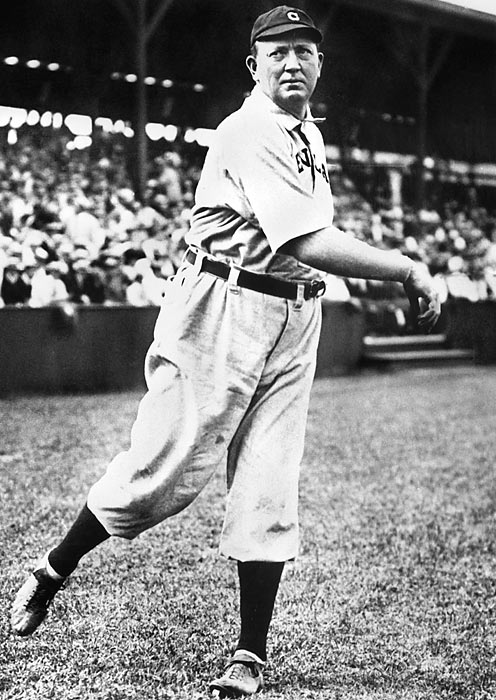 Cy Young records his 500th win. The all-time leader in wins finished his illustrious career with a record of 511-316, along with a 2.63 ERA.