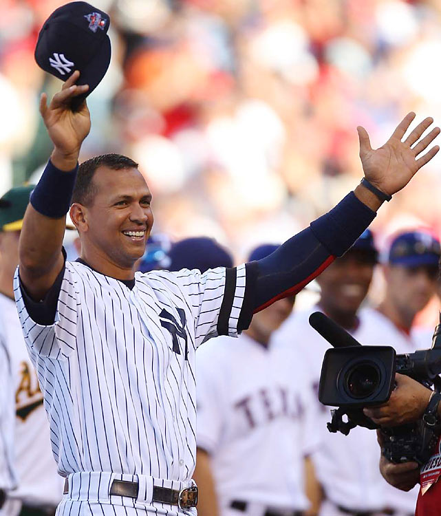 Pregame introductions were littered with boos by Anaheim fans toward their own American League team. Every Yankee and Red Sox player was serenaded, with some, like Alex Rodriguez (pictured) and David Ortiz, egging on the crowd.