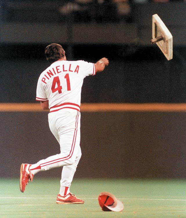 Piniella won the only World Series of his managerial career with the Reds in 1990. The Reds swept the Oakland Athletics to win their fifth title.