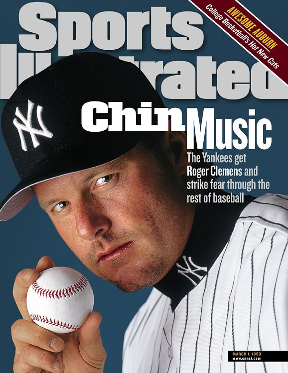 Continuing their tradition of poaching former Red Sox icons, the defending World Series champs land five-time Cy Young winner Roger Clemens from Toronto in a trade for David Wells, Graeme Lloyd and Homer Bush.