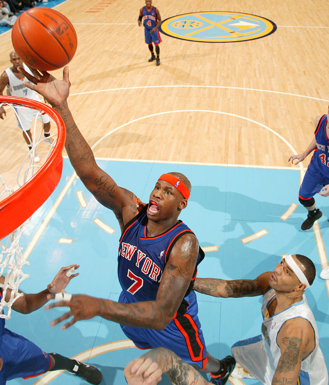 After falling out of favor in New York, Al Harrington signed with the Nuggets this offseason for the full mid-level exception. With Denver's bigs battling injuries seemingly every season, Harrington should provide some much needed depth and scoring. He averaged only 1.5 assists over the last three years, but Harrington also averaged 17.7 points per game last season.
