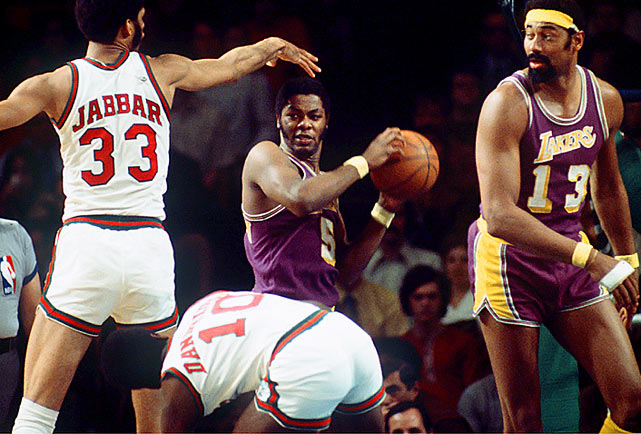 An All-America at Columbia, 6-5 forward Jim McMillian was the third-leading scorer on the 1971-72 Lakers, who won an NBA-record 33 consecutive games en route to a 69-13 season and five-game Finals victory against the Knicks. McMillian averaged 13.8 points in nine NBA seasons.