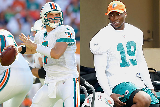 Henne took over for the injured Chad Pennington on Oct. 4 and started 13 games for the Dolphins. He completed 60% of his passes in an offense tailored to feature Miami's superb running attack and minimize Henne's potential to make mistakes. The Dolphins offseason trade for Brandon Marshall provides Henne with a deep threat to compliment the ground game.