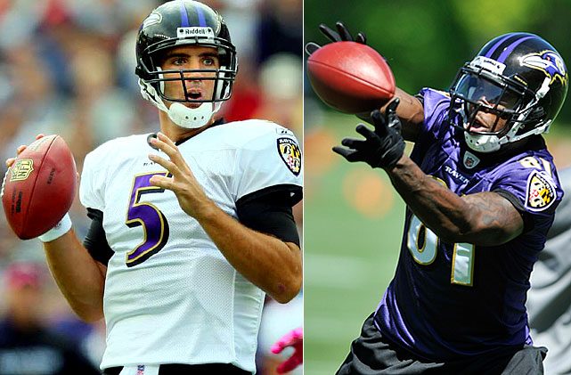 Joe Flacco avoided the sophomore slump in 2009 by improving in every major statistical category except wins and losses. The Ravens front office hopes that providing Flacco with a go-to receiver in Anquan Boldin will improve the latter category as well.