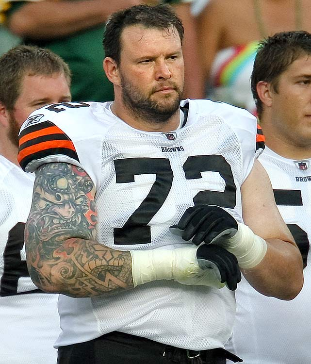 Two days after announcing his retirement on a Cleveland radio station, Tucker was slapped with an eight-game suspension by the NFL. He was also suspended for the Browns' first four games in 2007.