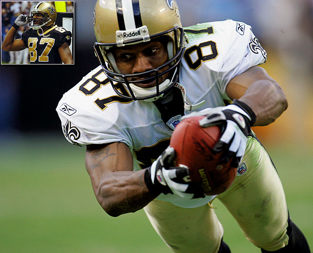 Joe Horn, who spent seven seasons with the Saints, announced on June 25, 2010 he would sign a one-day contract to retire a member of the club. In 2000, New Orleans gave Horn his first starting job at 28, and he didn't disappoint. His 523 receptions and 7,662 yards as a Saint rank him second in franchise history. Along the way, Horn became well-known for his touchdown celebrations, including famously placing a call on a cell phone after one score.