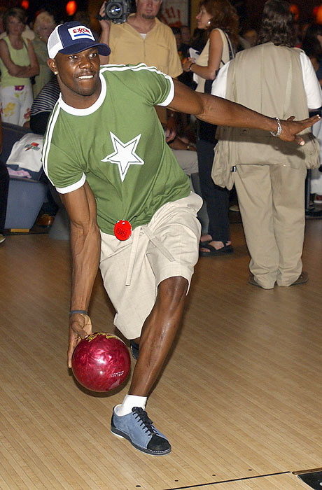 Seen here bowling before the 2003 ESPYs, Owens has been to the NFL's Pro Bowl six times. The last time he made the trip, however, was in 2007.