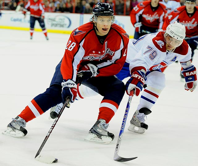 One of Washington's top guns and just entering his prime, Semin reached career-highs of 40 goals and 84 points in 2009-10 while finishing plus-36.