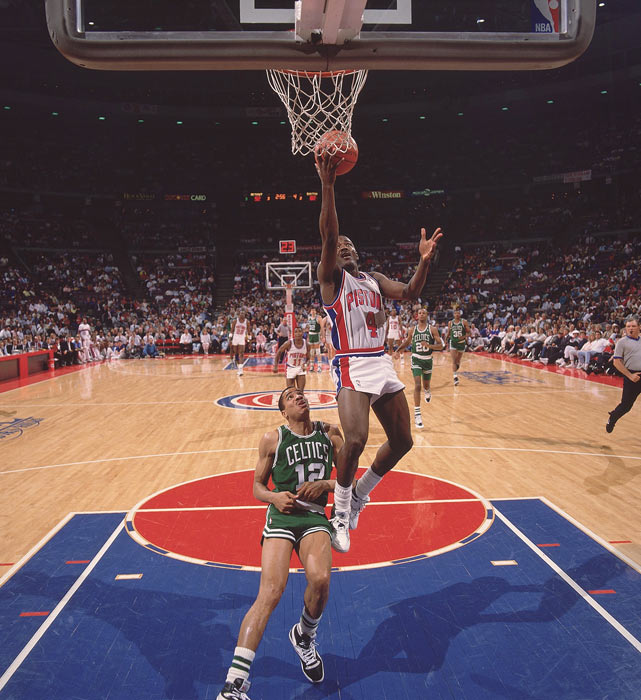 Dumars, 25, established himself as one of the NBA's top guards in 1988-89,  averaging 17 points and six assists per game while providing tough perimeter defense.