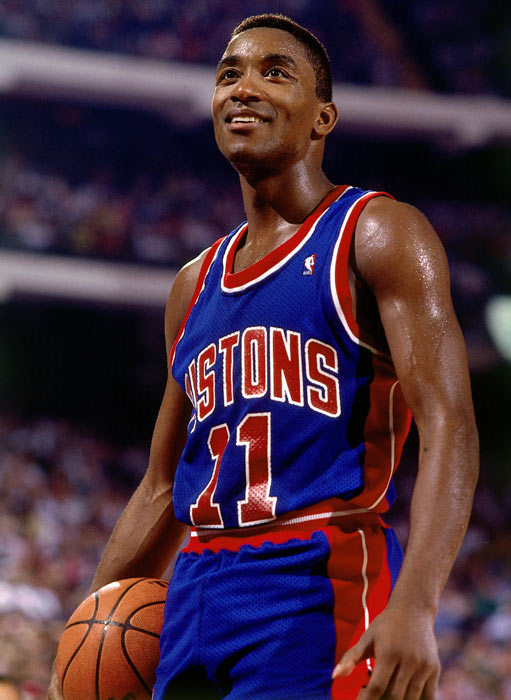 The Pistons squad was led by Thomas, a 6-foot-1 point guard. The 12-time All-Star led the team in scoring at 18 points per game while dishing out eight assists.