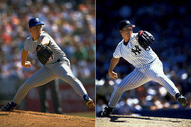 With free agency looming, David Cone was dealt from the Mets in 1992 and helped Toronto win its first World Series title. Cone went 4-3 with a 2.55 ERA during the regular season and pitched 22 2/3 innings in the postseason. Jeff Kent went to the Mets in the swap. In 2005, it was the Yankees who needed Cone's help, and he delivered by winning nine of his 13 starts as New York claimed the wild card.