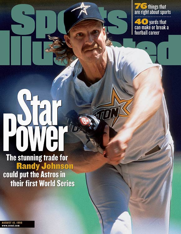 Perhaps the ultimate example of a rental player, Randy Johnson went 10-1 in 11 starts to lead Houston to the NL Central crown and then bolted for Arizona in free agency in the winter. The Astros, who lost in the first round despite having Johnson, gave up a ton of talent in the exchange: Freddy Garcia, Carlos Guillen and John Halama.
