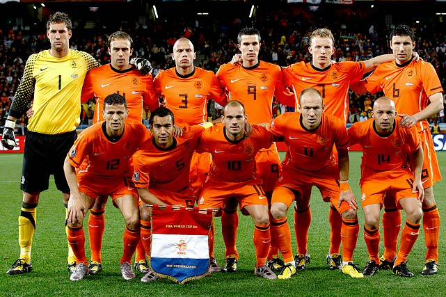 The Netherlands is playing in its first World Cup final since 1978 and is in the middle of a 25-game unbeaten streak, winning 10 straight.