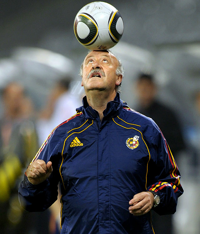 Former manager of Real Madrid, Del Bosque took the reins at Spain after its Euro 2008 triumph.