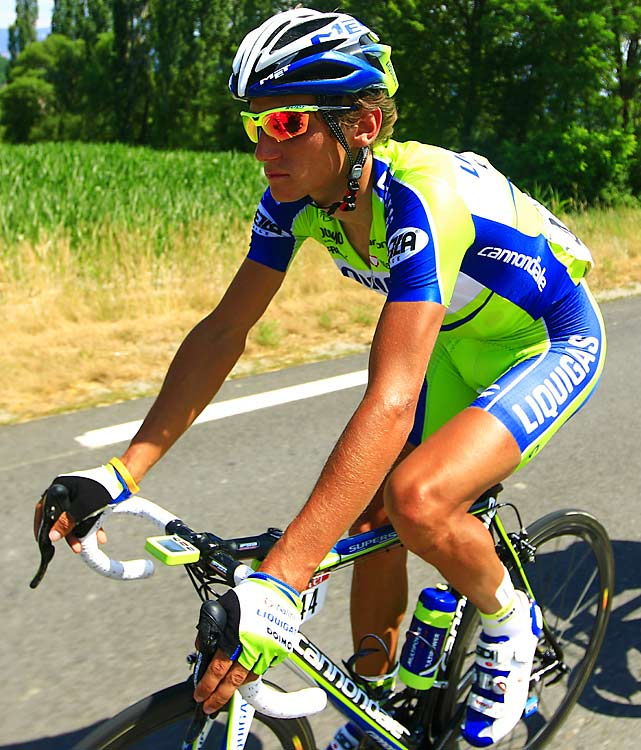 Kreuziger was 13th in the 2008 Tour and ninth the last two years. He's officially a marked man in the peloton, and so his Liquigas teammate, Ivan Basso. Basso, who had won the Giro d'Italia, disappointed at the 2010 Tour and fell to 32nd. If both get hot at next year's Tour, they can work together like few other duos in the race.
