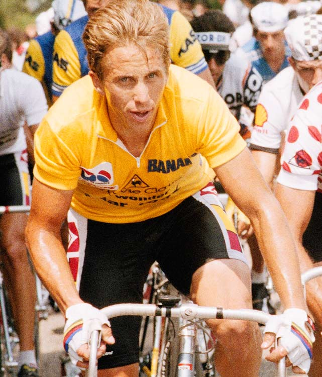 LeMond was the first American to win the Tour in 1986, leading to two decades of strong U.S. showings. The LeMondster unseated teammate Bernard Hinault as the alpha male of the peloton in 1986. He missed the next two Tours after a turkey-hunting accident in which his brother-in-law shot him with a shotgun. He came back to surpass Laurent Fignon on the final stage in 1989, erasing a 50-second deficit, and similarly beat a 5-second deficit in the final time trial in 1990.