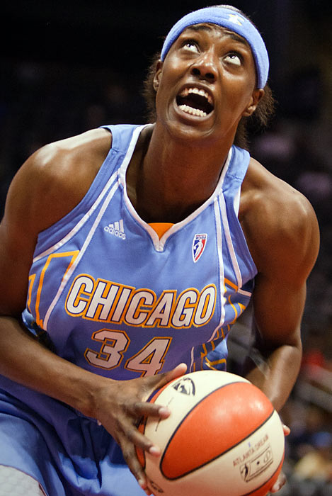 After struggling with various injuries her first two seasons, Sylvia Fowles has finally revealed her potential in her third season with Chicago. She showcased her talents in the WNBA All-Star game on July 10, scoring 23 points, including 13 in the opening six minutes of the second half.