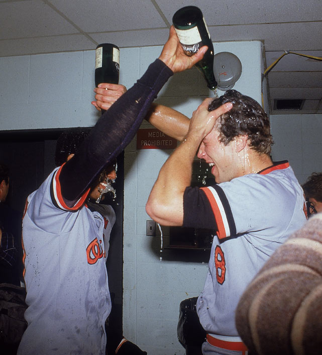 Ripken broke into the major leagues in 1981, playing 40 games for the Orioles. His breakthrough season occured in 1983, when he batted .318 with 27 home runs and 102 RBIs, and was named American League MVP. More importantly, he led Baltimore to a World Series championship.