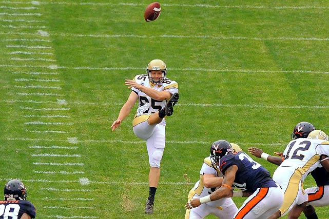 A non-scholarship player, Anderson booted 12 of his 37 punts last year inside the 20-yard line. He averaged 49.1 yards on seven attempts against Iowa in the Orange Bowl, good for a Georgia Tech bowl record.