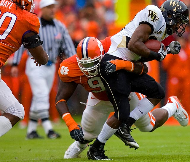 Jenkins was part of a Clemson defense that ranked in the top 25 in total and scoring defense. He contributed 69 tackles, 11 of which were for a loss.