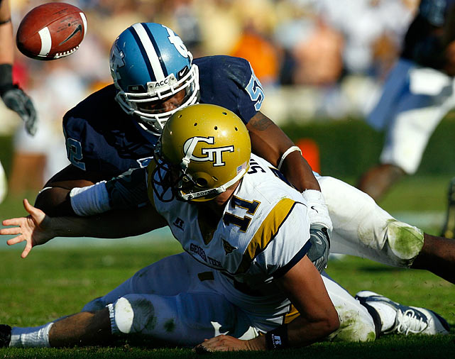One of the top inside linebacker prospects in the nation, Sturdivant led the Tar Heels with 79 tackles last season. In his sophomore campaign in 2008, Sturdivant led the nation with 87 unassisted tackles.