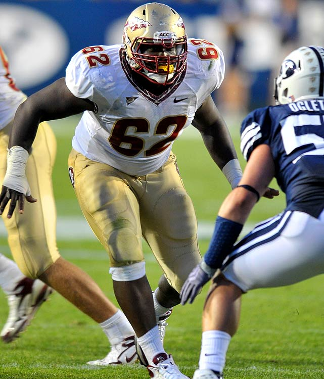 A consensus preseason All-America, Hudson could become the first player in ACC history to be named to the All-ACC team four times in his career. He did not allow a sack last season.
