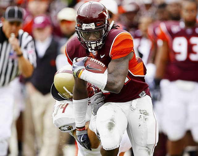 Williams became the face of the Hokies with a record-setting freshman season in which he ran for a school-record 1,655 yards and ACC-record 21 rushing touchdowns.