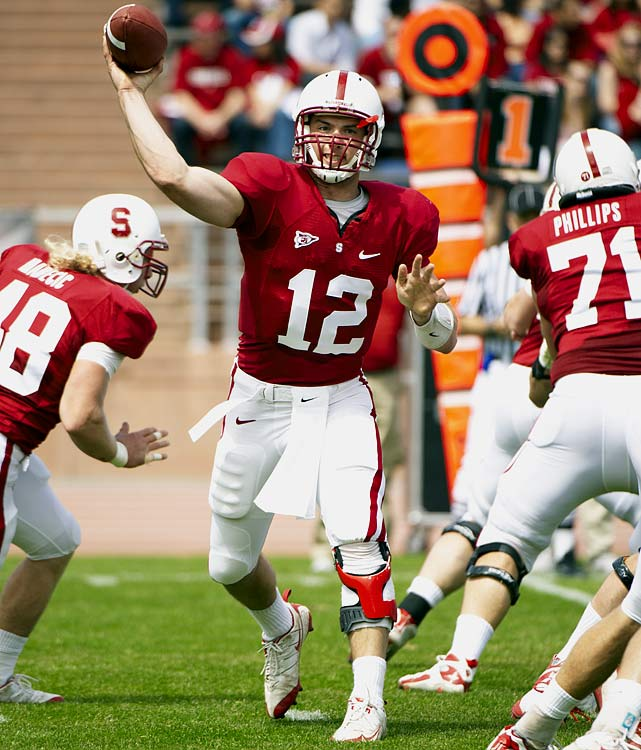 He set a Cardinal freshman record with 2,575 yards as a redshirt in 2009 and led Stanford to its most productive scoring year in school history (434 points). Luck could be the school's best quarterback since John Elway.