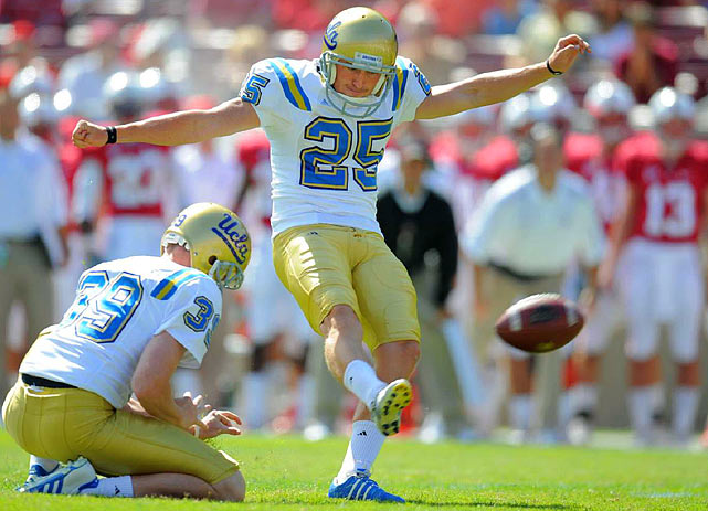 A consensus All-America as a junior, Forbath was second in the NCAA in field goals made last season (28 of 31), and his percentage (90.3) set a UCLA single-season mark. He has made a school-record nine field goals of 50 yards or more, hitting his longest, a 54-yarder, in 2007.