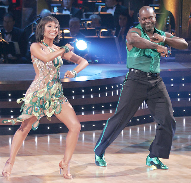 Smith appeared on the third season of Dancing With the Stars , in which he and Burke won first place.