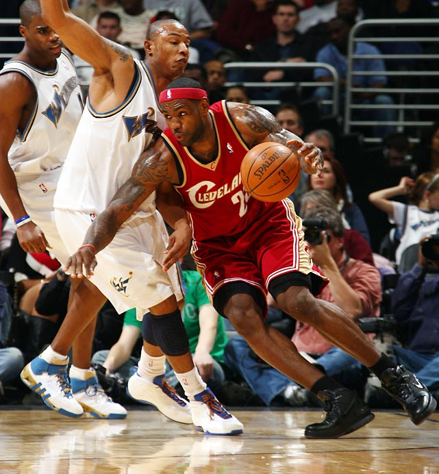 "You know you're a star in the NBA when you benefit from the ref's whistle.  You know you're a superstar when they change the rulebook to fit your game. Such was the case with LeBron James' infamous ""crab dribble.""  James was whistled for a travel in the closing seconds of a 2009 Wizards-Cavaliers game. James called the travel his ""trademark play"" and nine months later the NBA amended the rulebook to legalize the ""crab dribble"" once and for all."