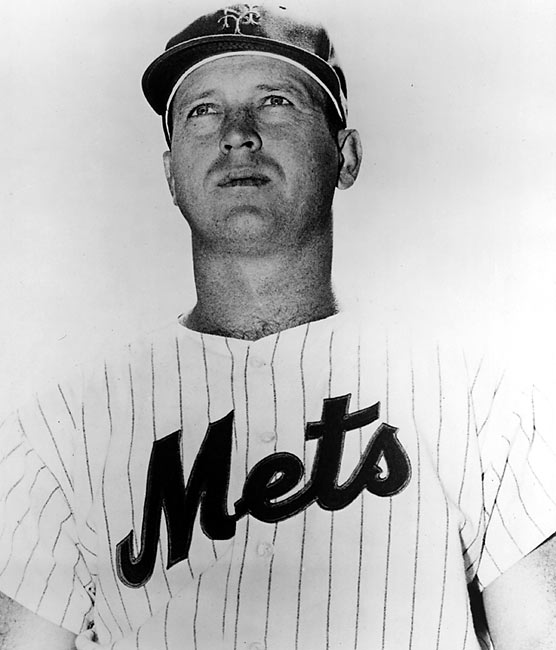 "In 1962, the Mets set the record for futility, with 120 losses, the most by an MLB team since 1900.  No one embodied this ineptitude better than Marv Throneberry, ironically nicknamed ""Marvelous Marvin.""  On June 17, Throneberry hit what would be a game-winning triple.  As Throneberry arrived at third base, the Cubs threw the ball to first and Throneberry was called out. When Manager Casey Stengel protested, the umpires informed him not to bother, Throneberry had missed second base as well."
