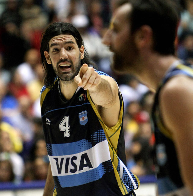 Considered one of the best players in FIBA basketball, Luis Scola was named MVP of the 2007 and 2009 FIBA Americas Championships. At 6-foot-9, the Houston Rockets power forward can bang in the post while also providing a soft touch. He averaged 16.2 points and 8.6 rebounds for the Rockets last season and has never missed a game in his three seasons in the NBA. With Manu Ginobili sitting out, Scola becomes the face of Argentina basketball.