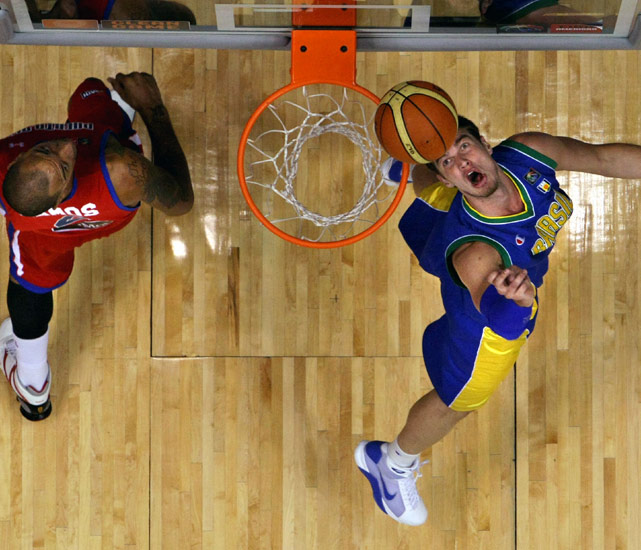 The Brazilian team is loaded with talent, most notably Leandro Barbosa, but Tiago Splitter is the team's true rising star. The 6-foot-11 center was named the Spanish League MVP in 2010 and will play for the San Antonio Spurs this season.  With Brazilian center Nene expected to miss the tournament, Splitter will be called upon heavily, and he could have a breakout performance.