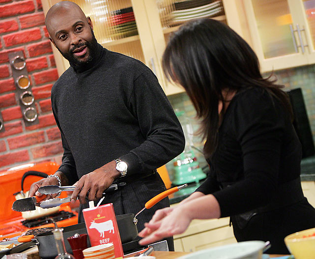 Undoubtedly, Rice made something extra delish on the Rachel Ray Show.