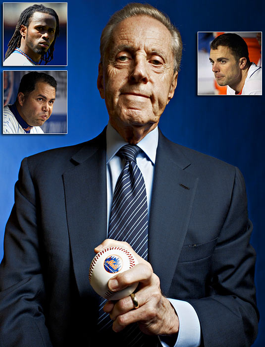In an article in The New Yorker, Wilpon makes critical comments of three of the Mets' star players, shortstop Jose Reyes, rightfielder Carlos Beltran and third baseman David Wright, that causes a media controversy for the embattled owner.