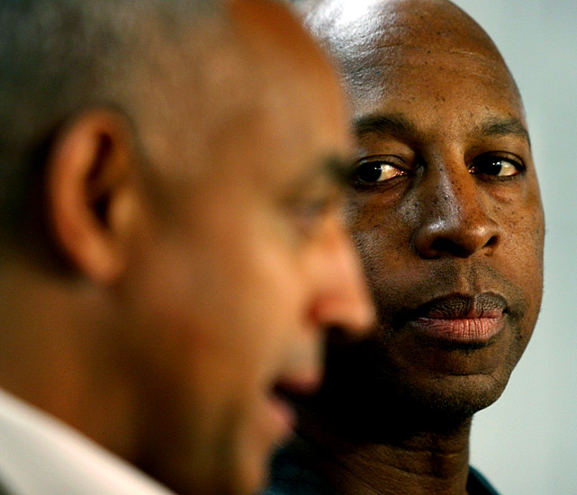 "Before leaving for a West Coast trip in late June, embattled Mets manager Willie Randolph tells GM Omar Minaya, ""If you're going to [fire me] do it now... Don't let me get on this plane."" Minaya lets Randolph board the plane and manage the Mets to a win over the Angels before flying to Anaheim himself to fire Randolph in the middle of the night, announcing the move at 3 a.m. ET."