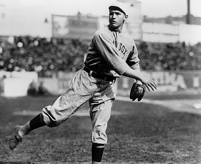Wood reached the majors at age 18 in 1908 and by 1911 he was one of the best pitchers in the AL, going 23-17 with a 2.02 ERA that season for the Boston Red Sox. He was even better in 1912, with 34 wins, a 1.91 ERA and 10 shutouts. But he pitched 619 2/3 innings in those seasons and though he was still good -- he finished with a 2.03 career ERA -- he only pitched 434 2/3 innings the rest of his career. Eventually, injuries forced him from the mound for good. He pitched in just three more games after 1915 and finished his career as a position player, batting .297 for the Indians in 1922.