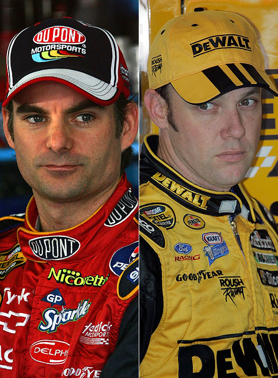 Jeff Gordon and Matt Kenseth got into it after a 2006 race at Bristol. Kenseth spun out Gordon during the final lap of the race, sending him to a 21st-place finish. When the two left the track, Gordon confronted Kenseth and angrily shoved him before being escorted away. Gordon would later spin out Kenseth while the driver was in line for a victory at Chicagoland.