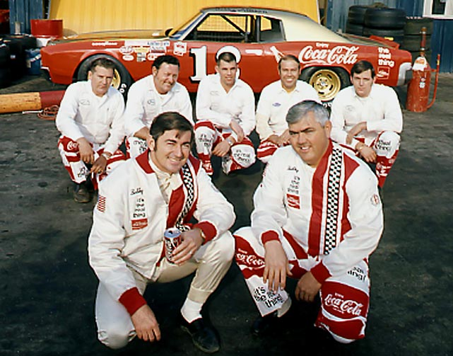 Corporate sponsorship in NASCAR was once a bunch of small, one-time deals combined with manufacturer support to simply keep a team going from race to race. Most of the crew and even the drivers had part-time jobs outside of the sport. But with the unveiling of Bobby Allison's major sponsorship with Coca-Cola in 1970, the light bulb went off about how corporations could use these cars as rolling billboards. By 1972, Richard Petty had a full-season deal with STP and the seeds of the primary sponsorship model we see today had been fully planted.