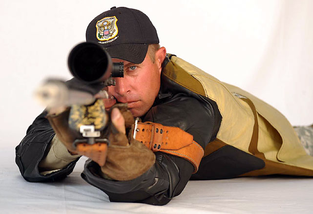 Through the scope, shooters such as the Army's Lance Dement can see the finest details, including the wake of their ammunition as it cuts through the air, grass swaying in the wind 950 yards away and, obviously, the targets, which can be as far away as 1,000 yards.