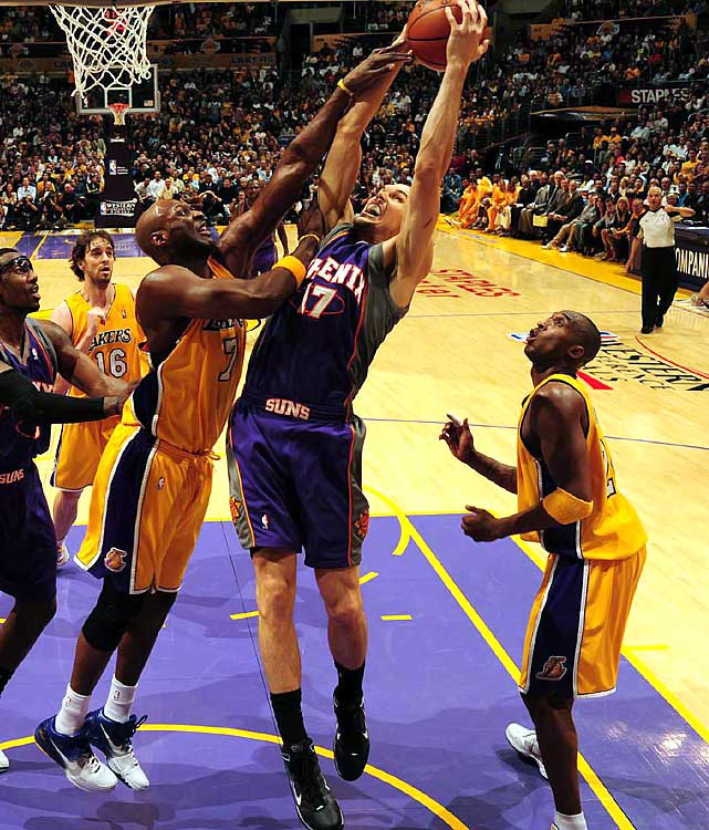 The Suns owed a lot of last season's success to their bench, and Louis Amundson was a big part of that. The undrafted 6-9 forward was a fan favorite who did the dirty work on an offensive-minded team. Phoenix doesn't have room for him after signing power forward Hakim Warrick and center Channing Frye to sizable contracts and drafting forward Gani Lawal.
