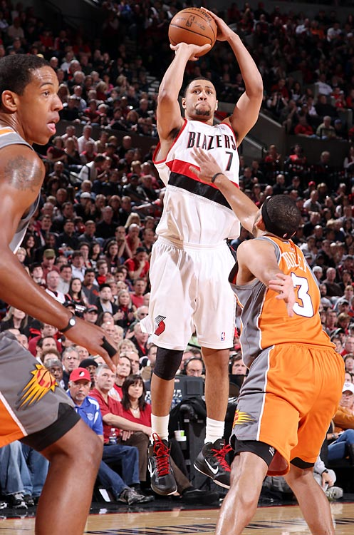 So it's not quite a comeback. Just eight days after undergoing knee surgery, the Blazers' top scorer (21.5 ppg) shocked his teammates and fans when he decided to return for the playoffs. Though he provided a morale boost and a win for Portland, Roy clearly wasn't 100 percent. He should be, though, by the start of the season.