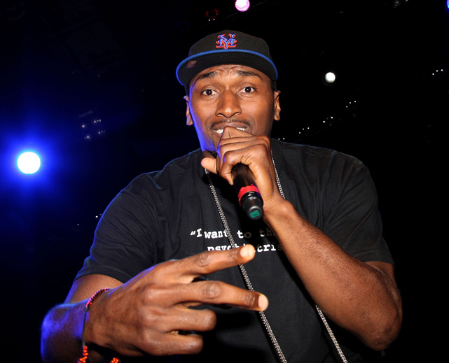 NBA player/aspiring platinum rapper Ron Artest performed at the Diabetes Awareness & Healthy Living Benefit Concert at Club Nokia in Los Angeles.