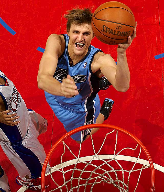 Though Andrei Kirilenko hasn't lived up to the six-year, $86 million contract he signed in 2004, the 29-year-old forward is still valuable for his versatility and ability to be disruptive on defense. He is set to make $17.8 million in the last year of his deal.