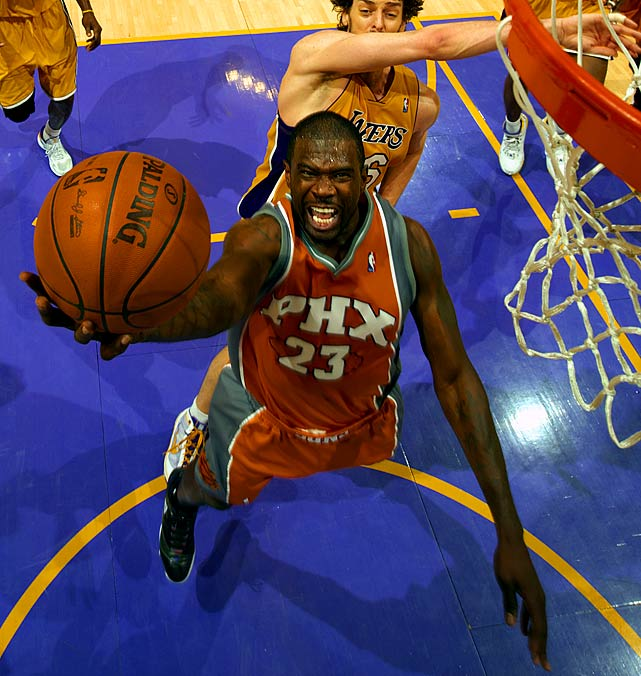 With a salary of $14.4 million this season, Jason Richardson will make $4 million more than backcourt mate and two-time MVP Steve Nash. Richardson may not approach that kind of annual salary in his next contract, but he's still a valuable player for his explosive scoring ability -- witness his run in the 2010 playoffs, when he averaged 19.8 points and shot 47.5 percent from three-point range.