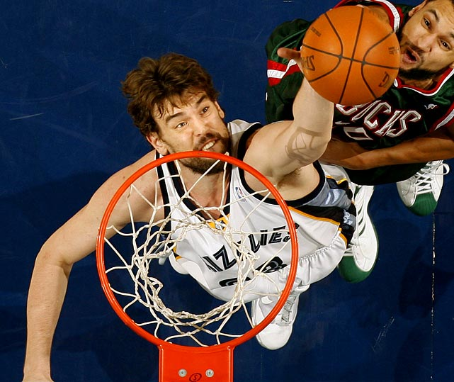 On the heels of giving Rudy Gay a max contract, will the Grizzlies pay big to keep another young core player, Marc Gasol? Pau's little brother was an All-Star candidate last season as he averaged 14.6 points and 9.3 rebounds and ranked fourth in shooting percentage at 58.1.